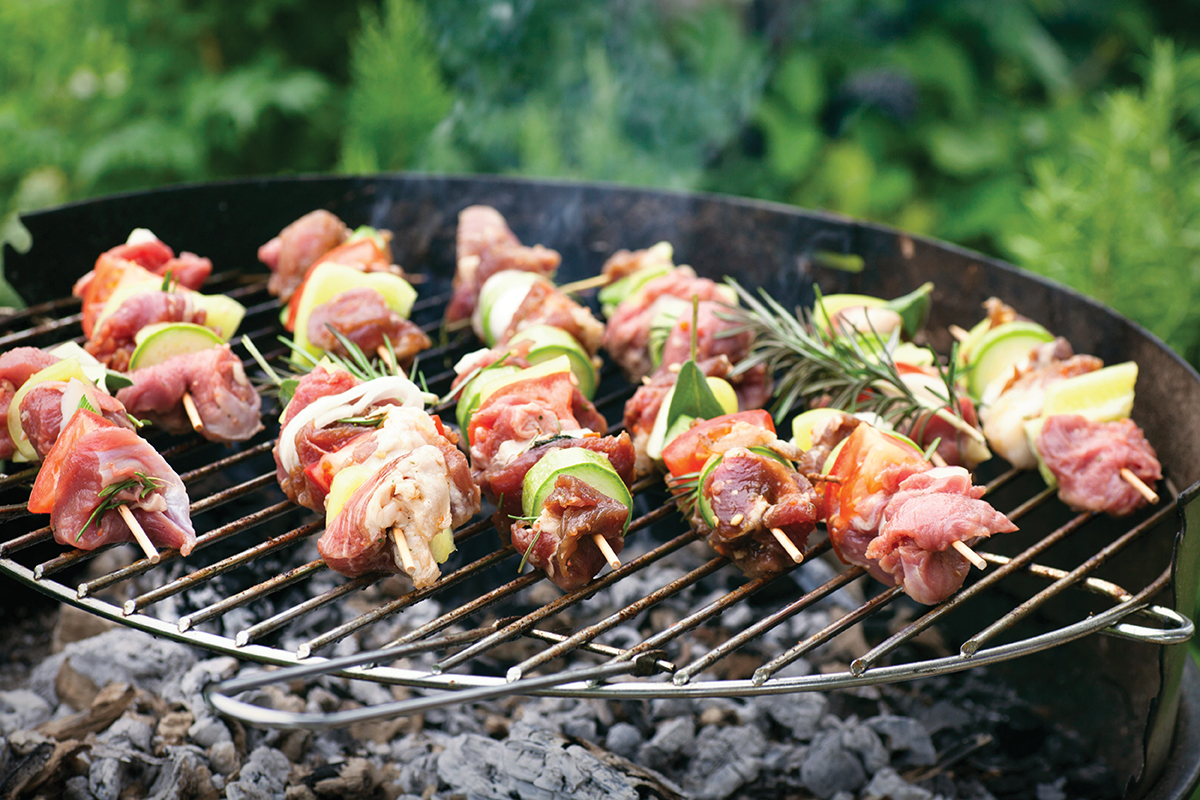 Give guests the option to customize their food. You can create a burger or pizza bar, or set out meat and veggies and let people make their own skewers. Everything tastes better on the grill!