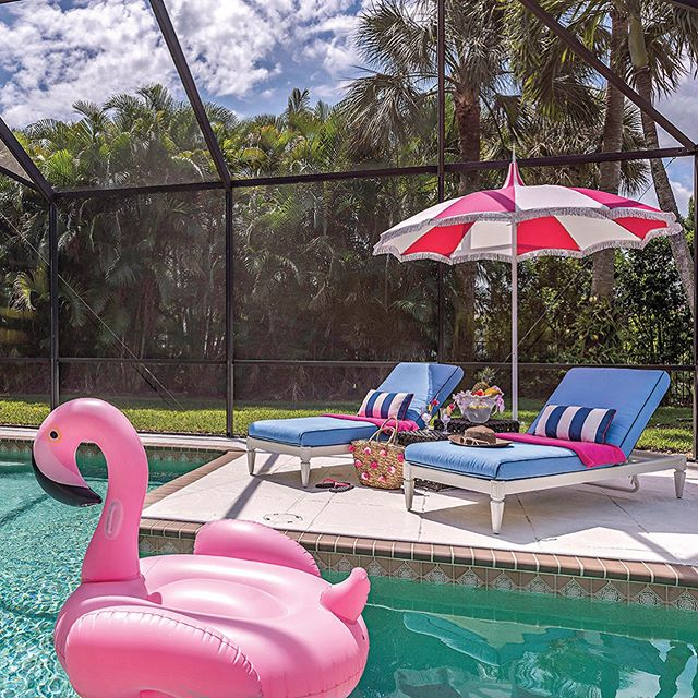 Our friend @decdenclaudia has some great tips for creating a vibrant and fun lanai. Check out yhmagazine.com for the full article! . . . . #yhmagazine #yourhome #claudialeah #decoratingden #interior #interiors #decor #decorator #interiordecorator #design #naples #naplesfl #fl