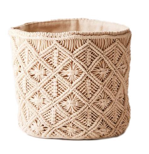 Macrame Catch All Basket
