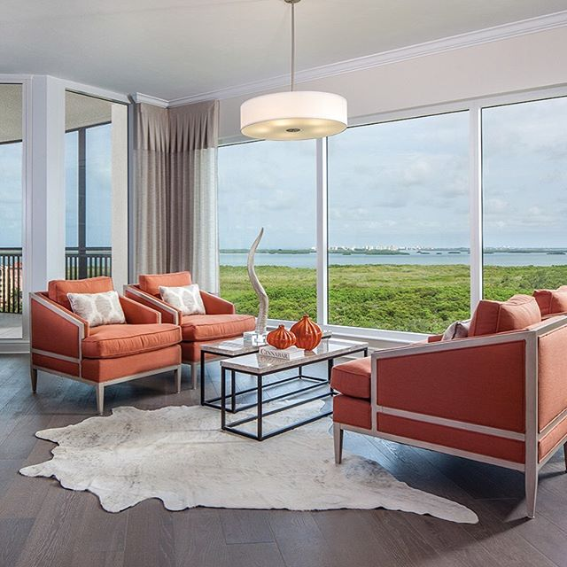 How about that view?! Check out the amazing work from Cinnabar Design now on yhmagazine.com! . . . . #yhmagazine #yourhome #cinnabar #swfl #florida #naplesfl #paradise #interiordesign #design #interiordesign #designer #interiordesigner #orange #livingroom #fla #luxury #home #inspiration #lifestyle