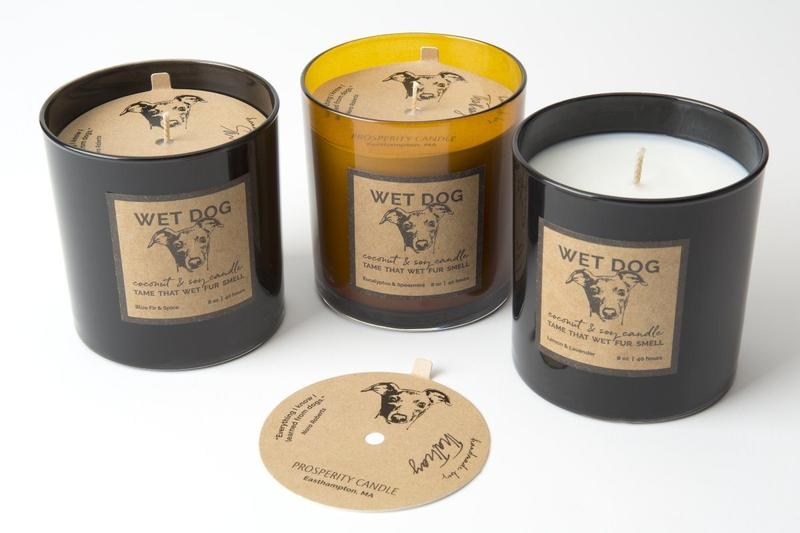 """""""Tame That Wet Fur Smell"""" - Named for Riley, who once in awhile gets herself soaking wet, but never smells bad because her fur picks up the aroma of whatever candles are currently being poured in the shop!Try Blue Fir and Spice, Lemon and Lavender or Spearmint and Eucalyptus."""
