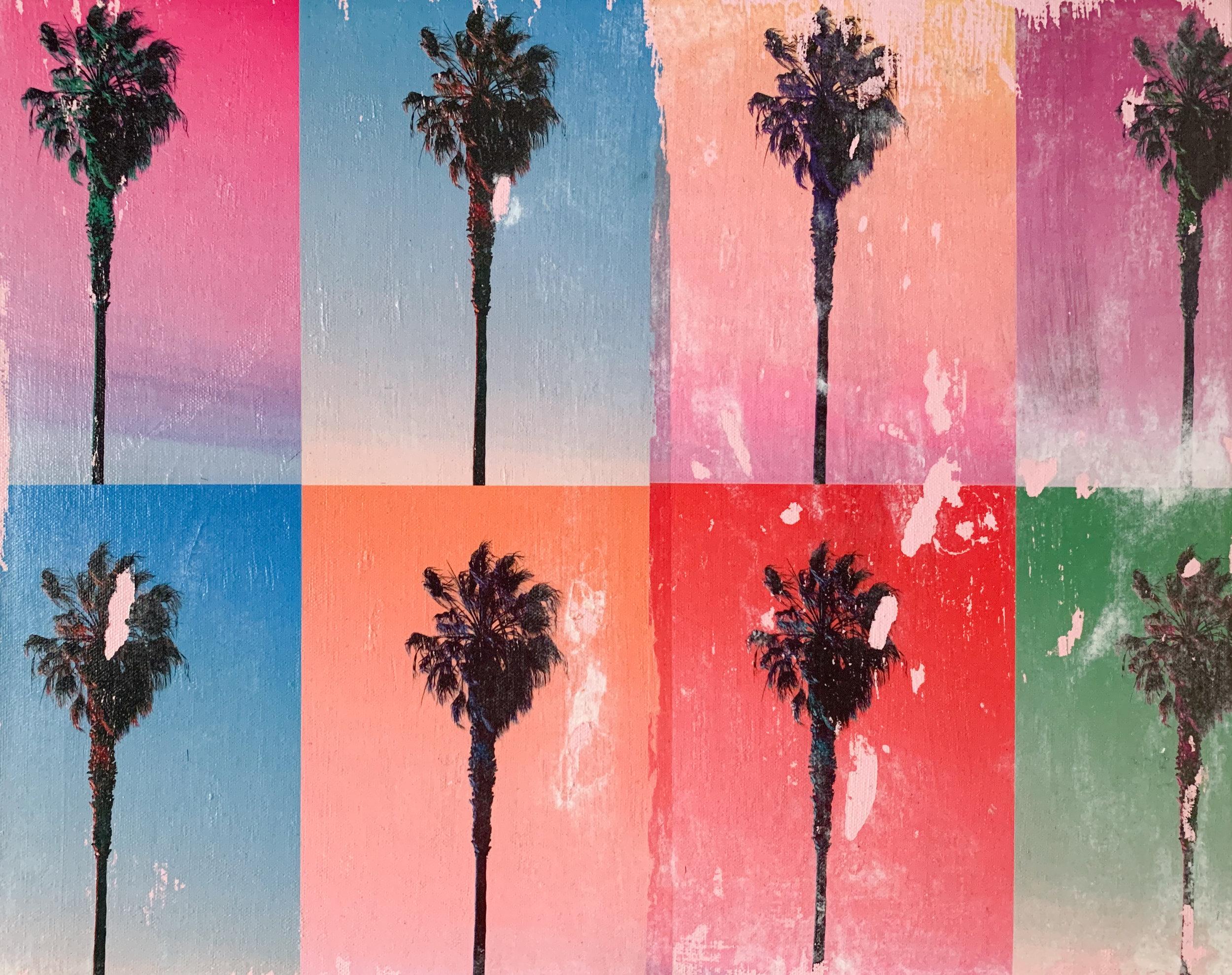 8 Palm Trees