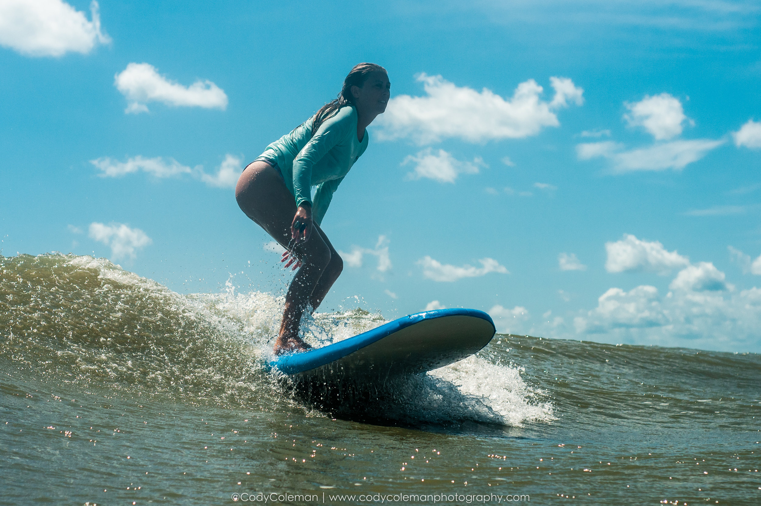 JOIN US FOR OUR POPULAR LADIES' SURF AND YOGA MORNINGS - DESIGNED FOR BEGINNER AND INTERMEDIATE SURFERS
