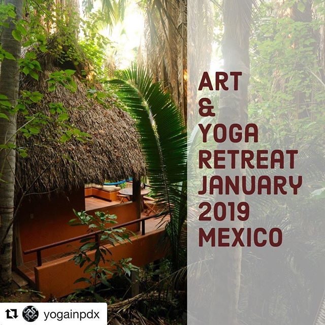 I can't believe I am finally saying this, but space is limited!!!!!! We have only 4 spots left!  #Repost @yogainpdx with @get_repost ・・・ Ever dream of having a treehouse as a kid? Reconnect with your inner child and spend six nights in the jungle at Palapa Parota, or one of the neighboring casitas. Fall asleep to the sounds of the jungle, wake up to the roar of the ocean, and breakfast made by  local Chef Alex using fresh local ingredients. The rest of your days will be filled with art exploration, morning yoga practice, hiking, beach time and getting familiar with the local cuisine and culture.  Treat yourself, or perhaps it's the perfect holiday gift for someone you love? - Capture the Glow: Art & Yoga Retreat in the Jungle @artandyogaretreats January 27- February 2 San Pancho, Nayarit, Mexico More info on www.yogainpdx.com LINK IN BIO - - - #yogainpdx #yoga #pdx #retreat #mexico #portland #art #yogaretreat #nature #jungle #treatyoself #lifestyle #life #pnw #oregon #california #seattle - Paid Partnership with @artandyogaretreats