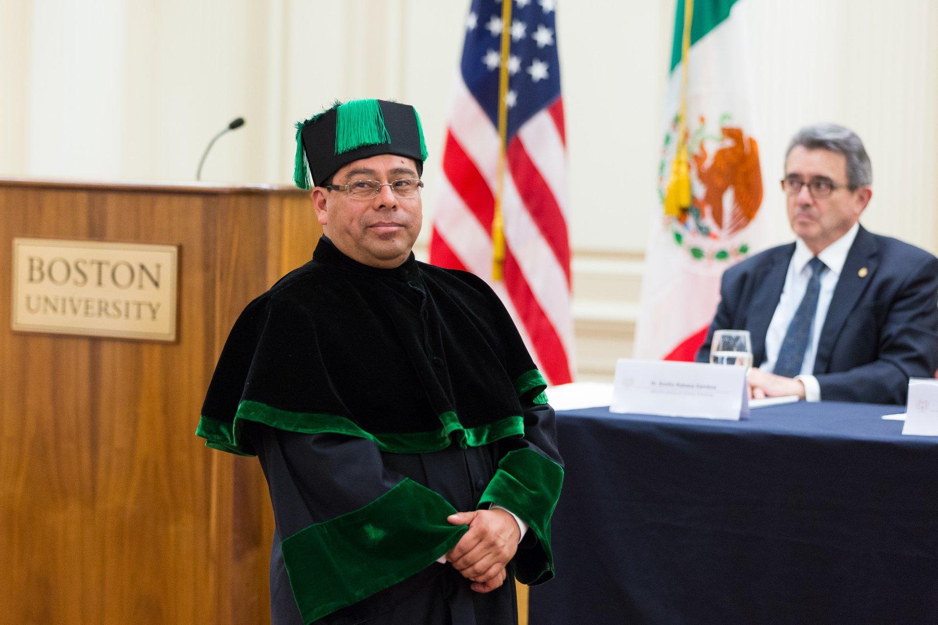 Lauriano E. Rodríguez, candidato a la rectoría de la Universidad Autónoma de Chiapas. Foto: Facebook.