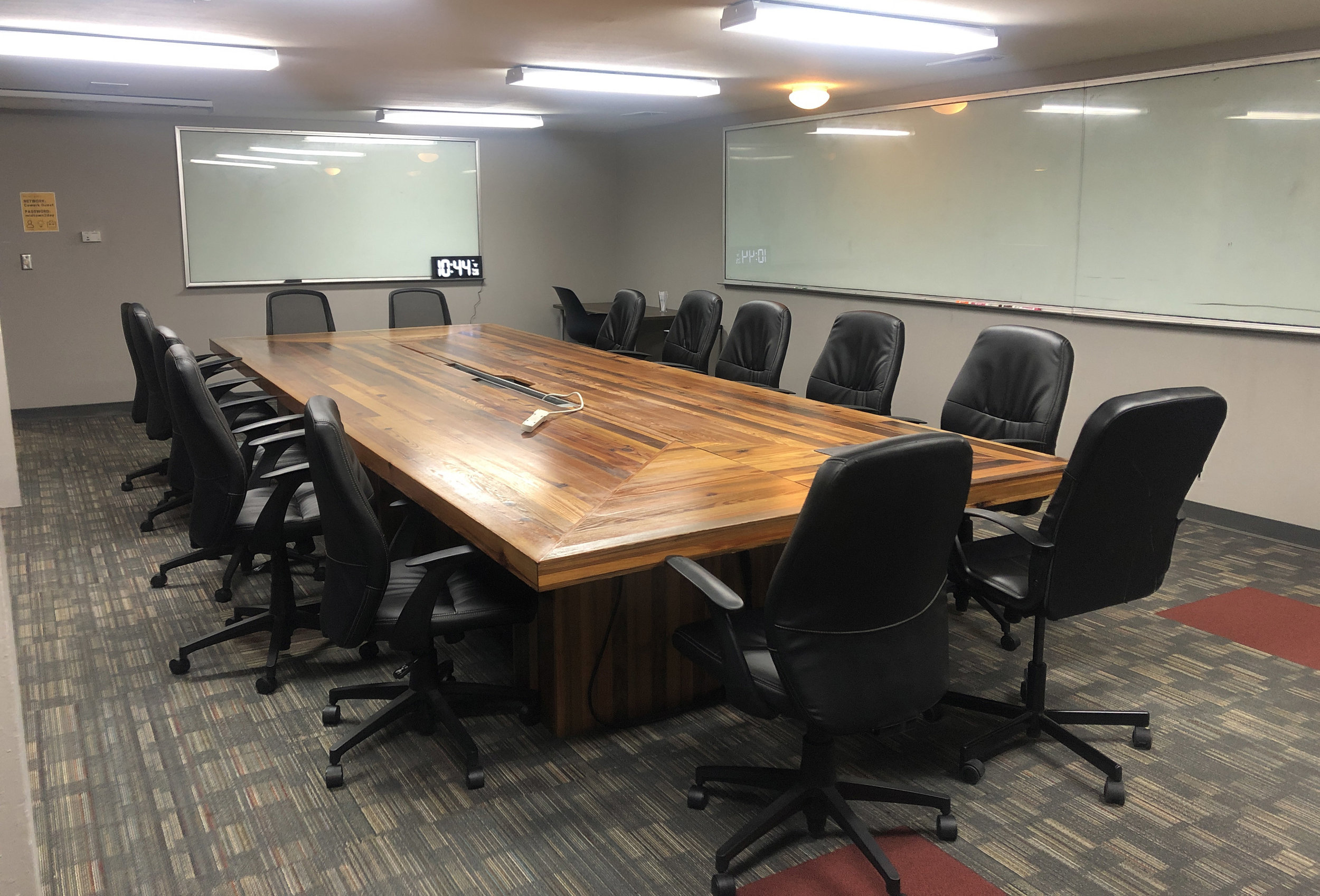Host your meetings here! - Epicenter has four meeting spaces tailored to fit meetups of multiple sizes. Check out our Meeting room FAQ to learn more about reserving a space.