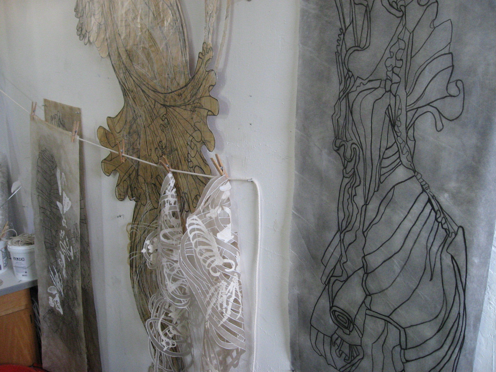 Studio Installation Detail