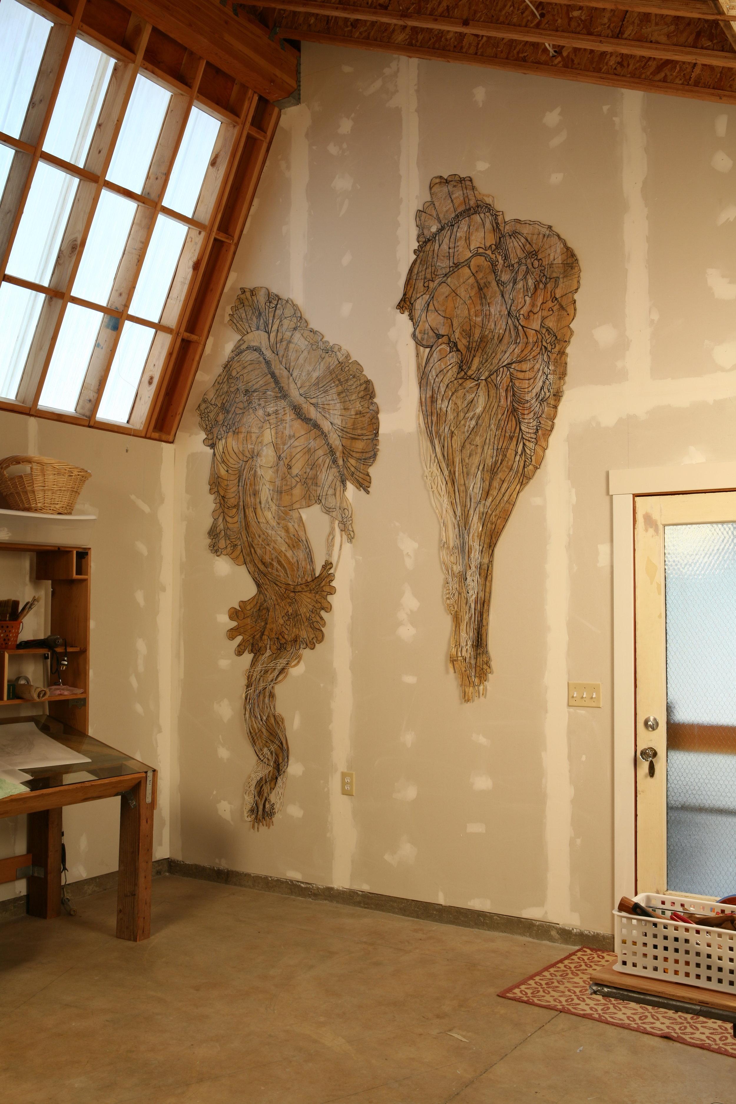 Studio Installation Angel and Arlene