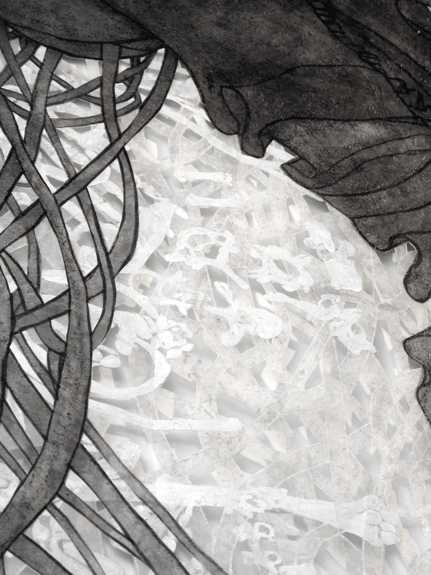 Bog Blossom Detail