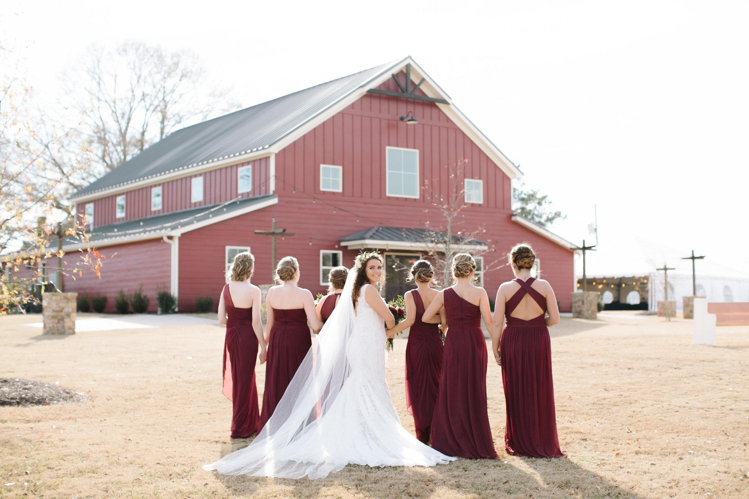 Photo by Megan Hobbs Photography. Wedding on December 16, 2017