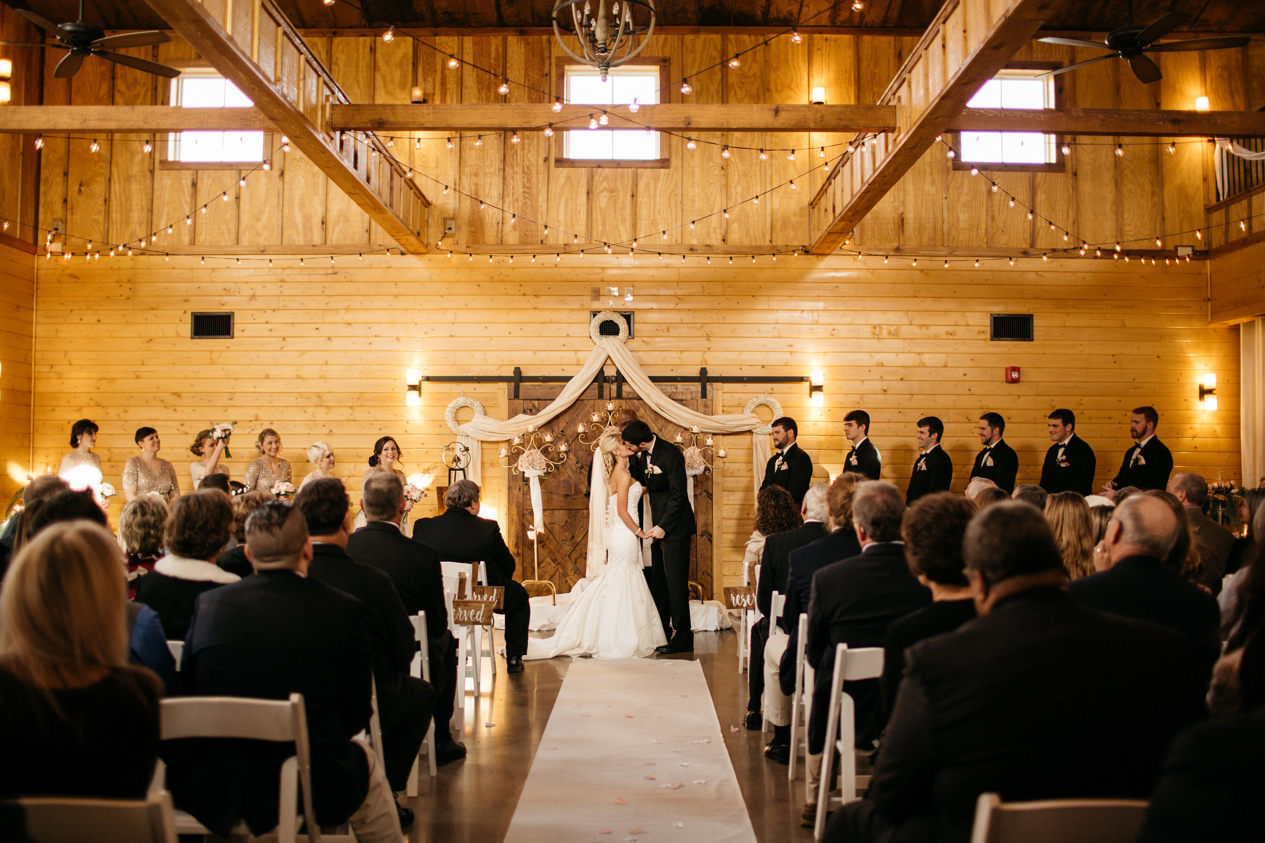 Photo by Brooke Miller Photography. Wedding on February 4, 2017