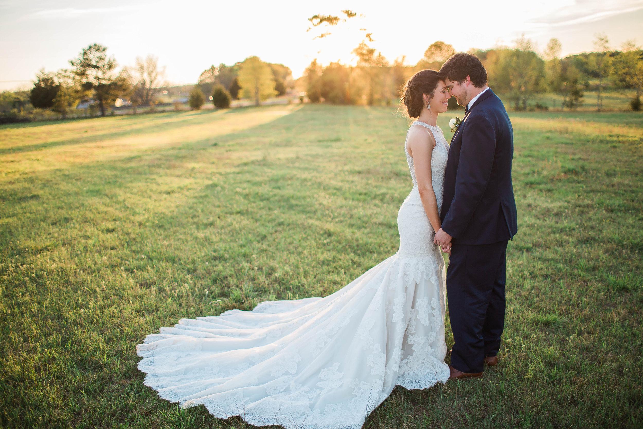 April wedding, photo by Amanda Sumner Photography
