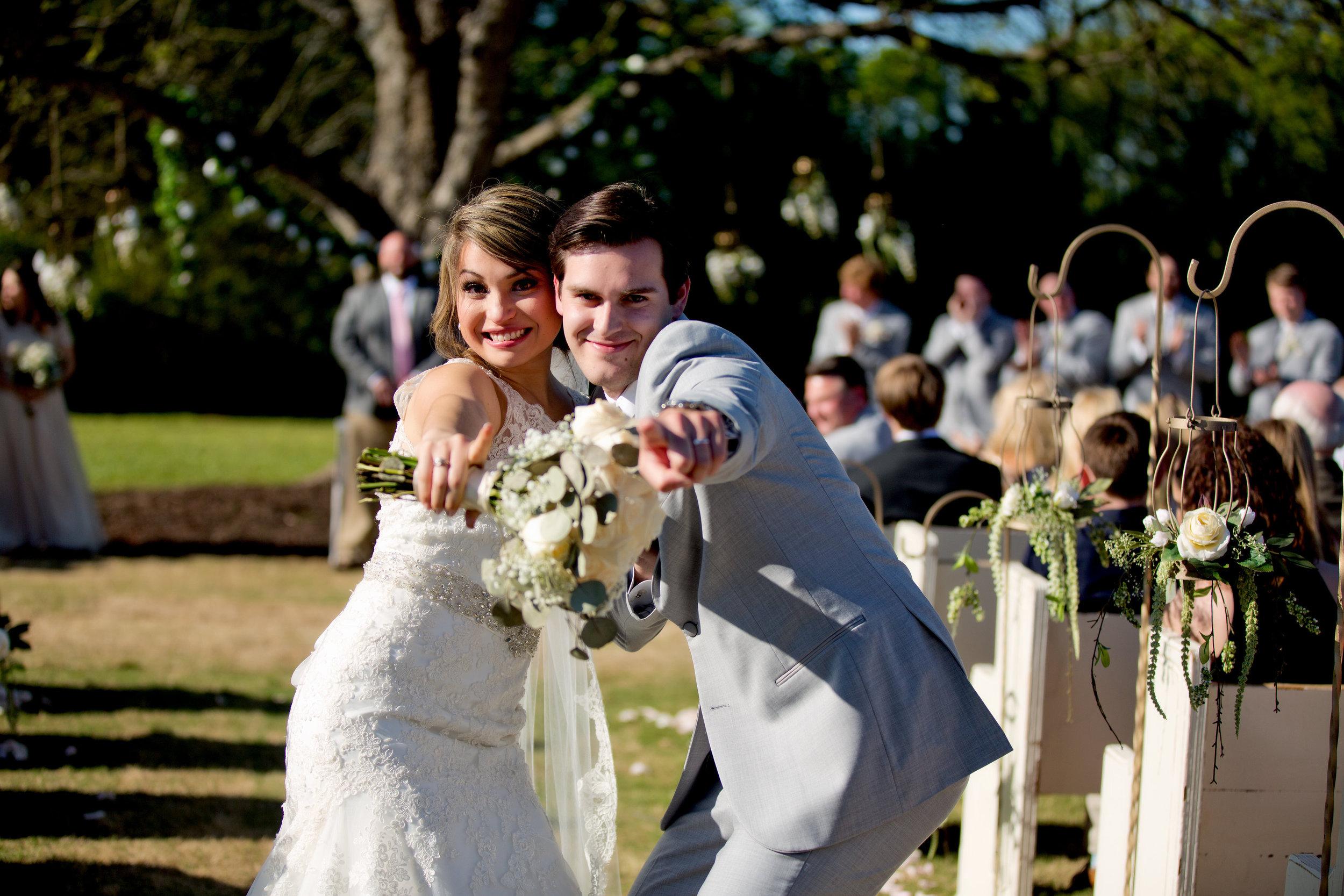 April Wedding, photo by Taken by Tate