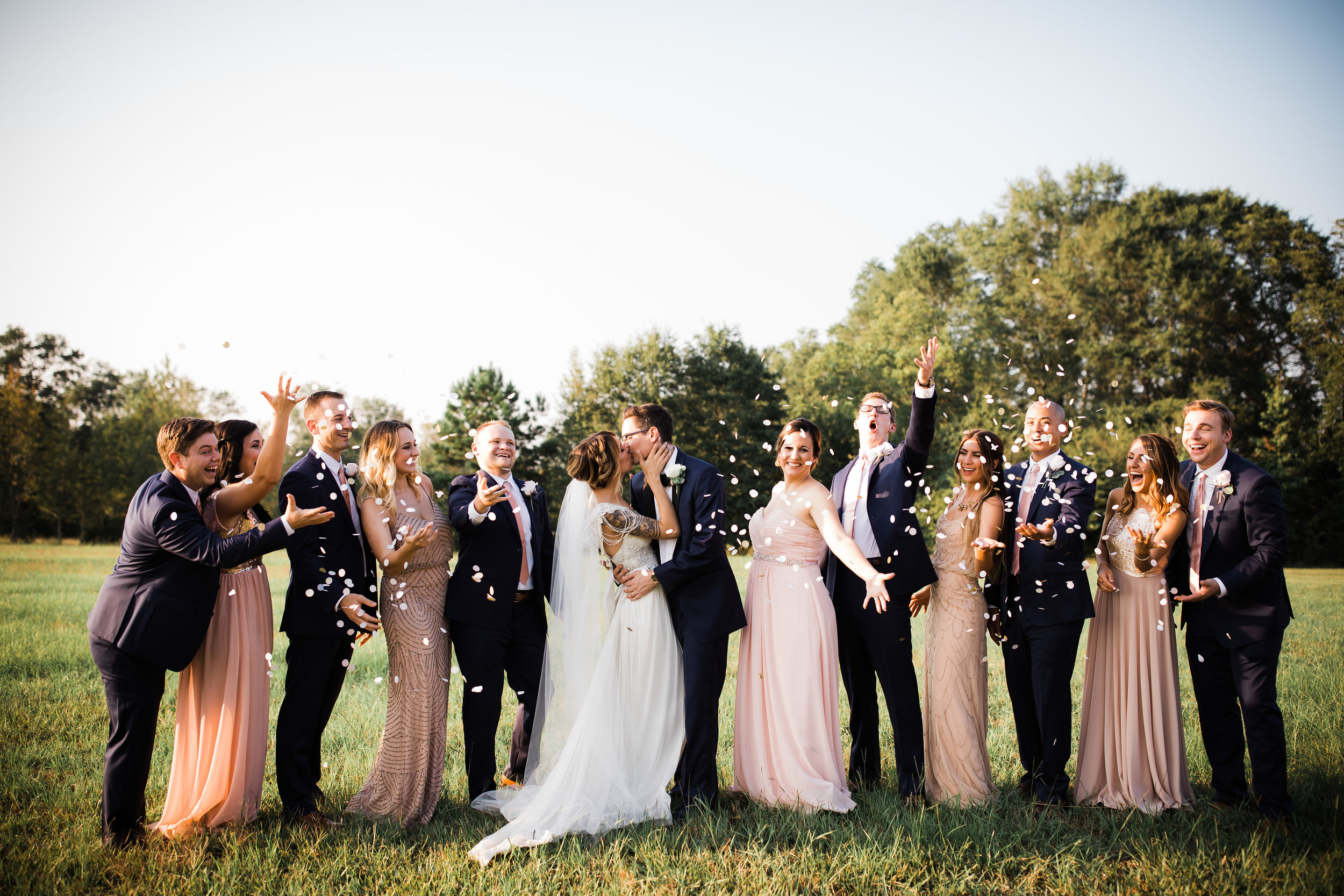 So much to celebrate about this September wedding! pc: Twinkling Eye Photography