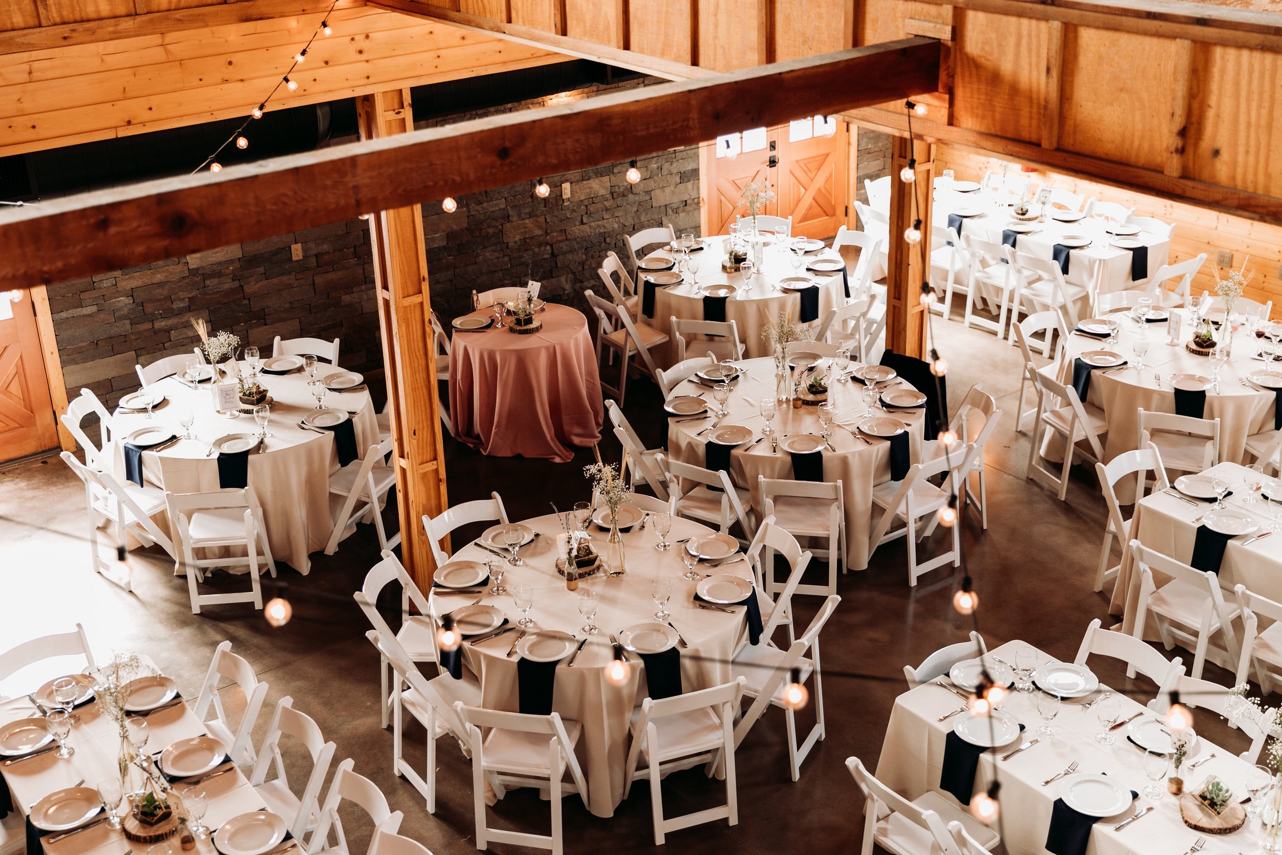 Outdoor ceremony, outdoor cocktail hour and indoor reception. pc: Sydney Renee Photography
