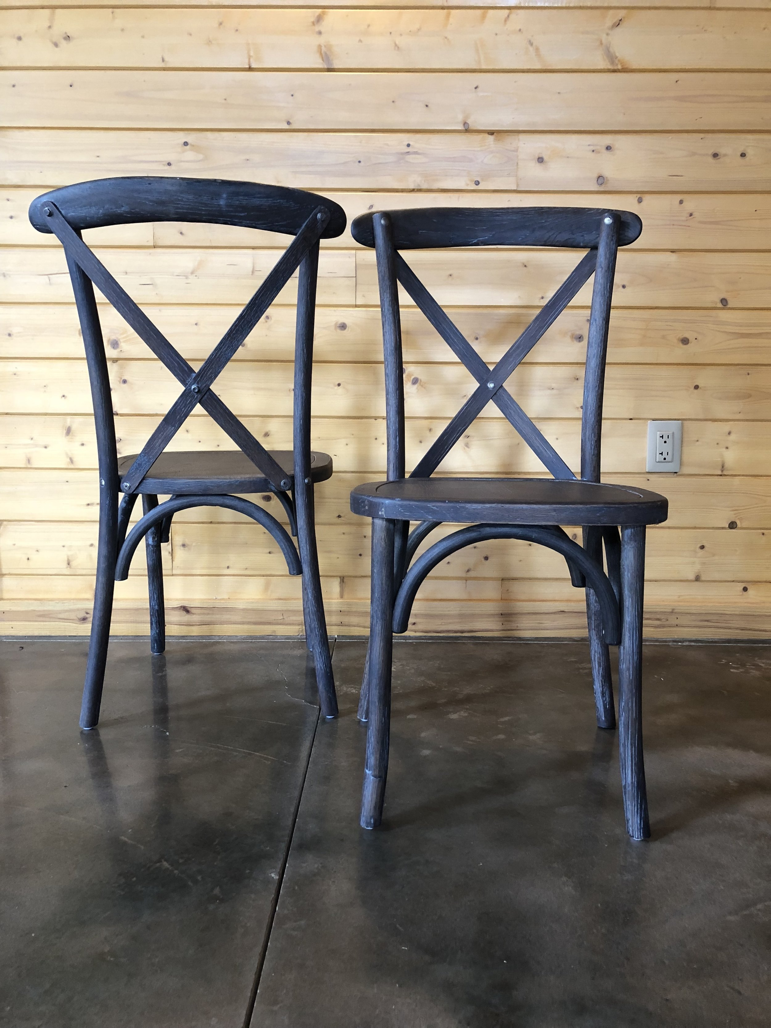 We are so excited for our new chairs and every couple that has seen them, loves them too!