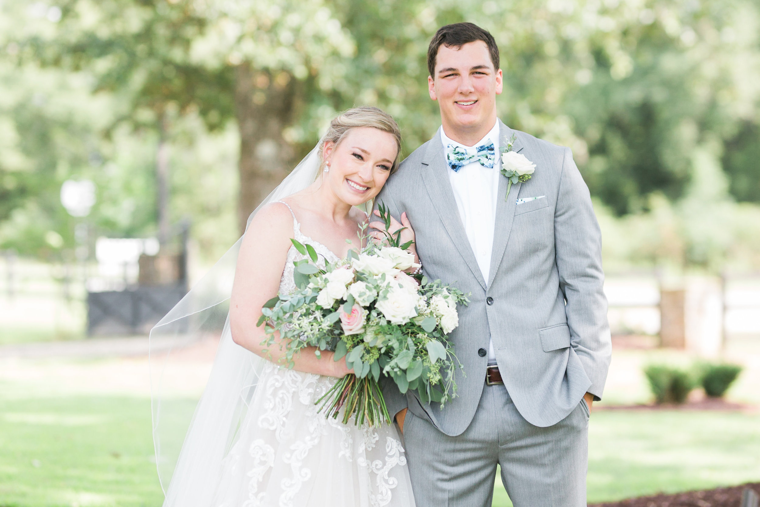 Haley & Trevor's first looks are pictures we will never tire of! Thanks to Mandee Matthews for capturing their perfect day!