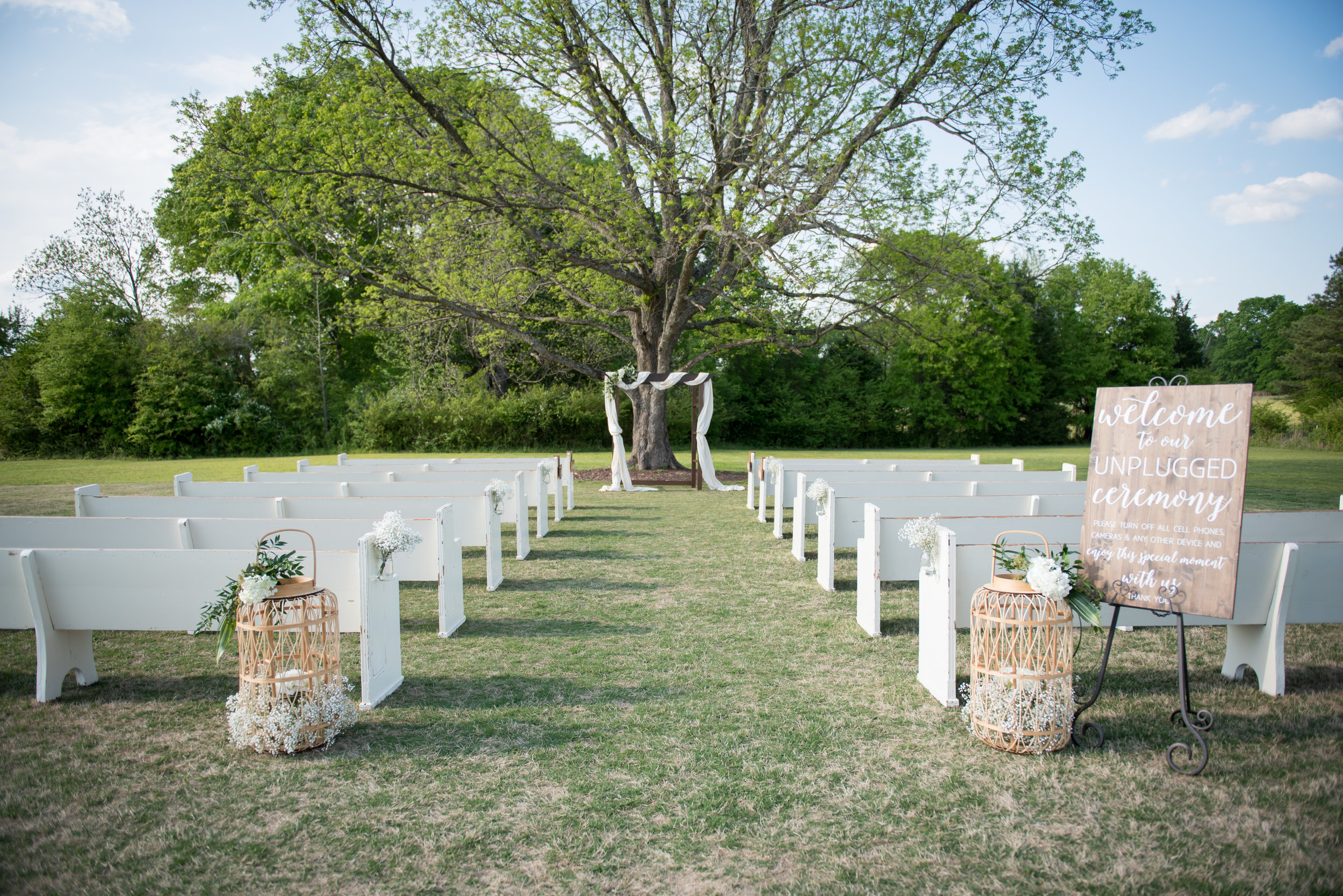 Wedding coordinators have to be sure the ceremony area is ready to go! PC: Brian Dean Photography