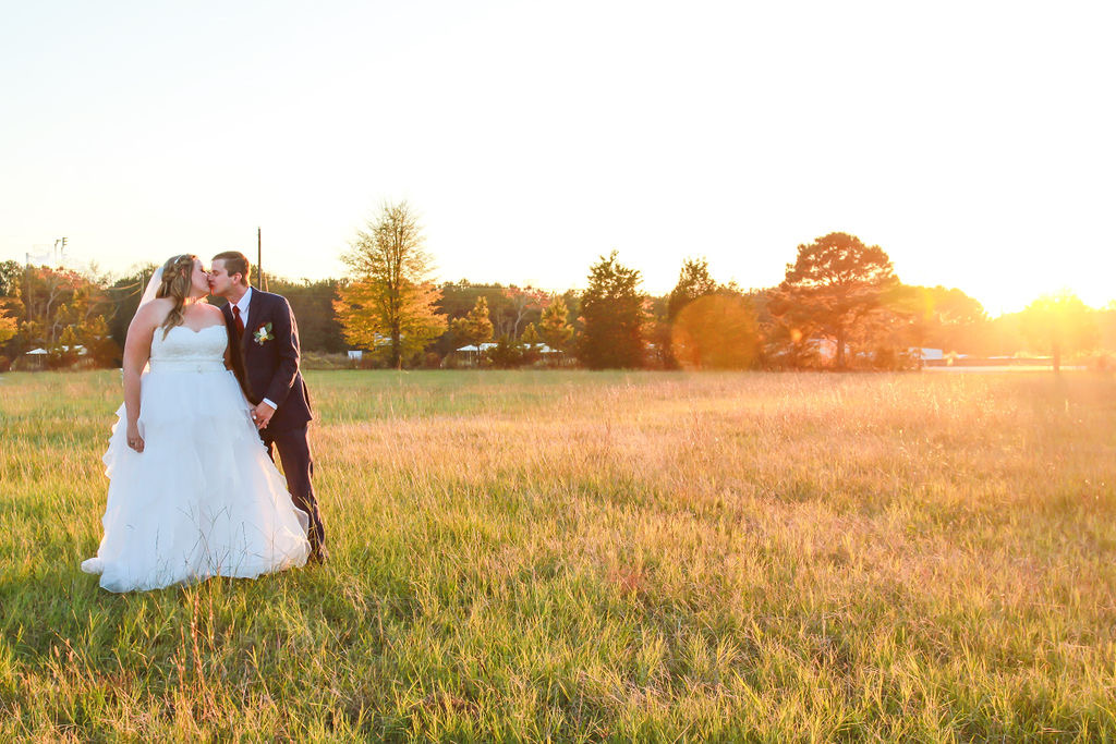 This Sunday November wedding had all the fun and caught golden hour for some extra couple shots! pc: JP Photography and Events