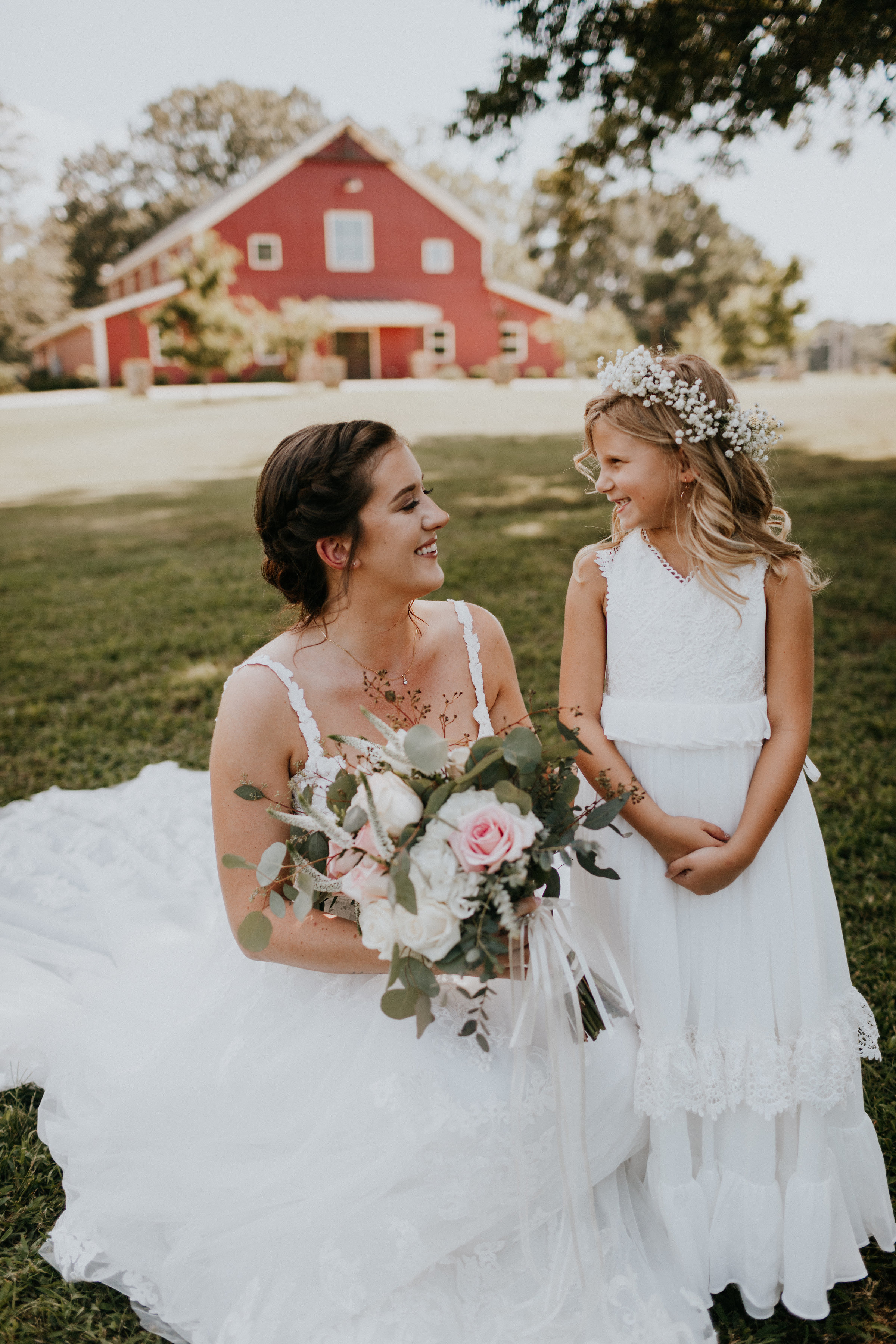 Kids at weddings can make for adorable pictures. pc: Brooke Miller Photography