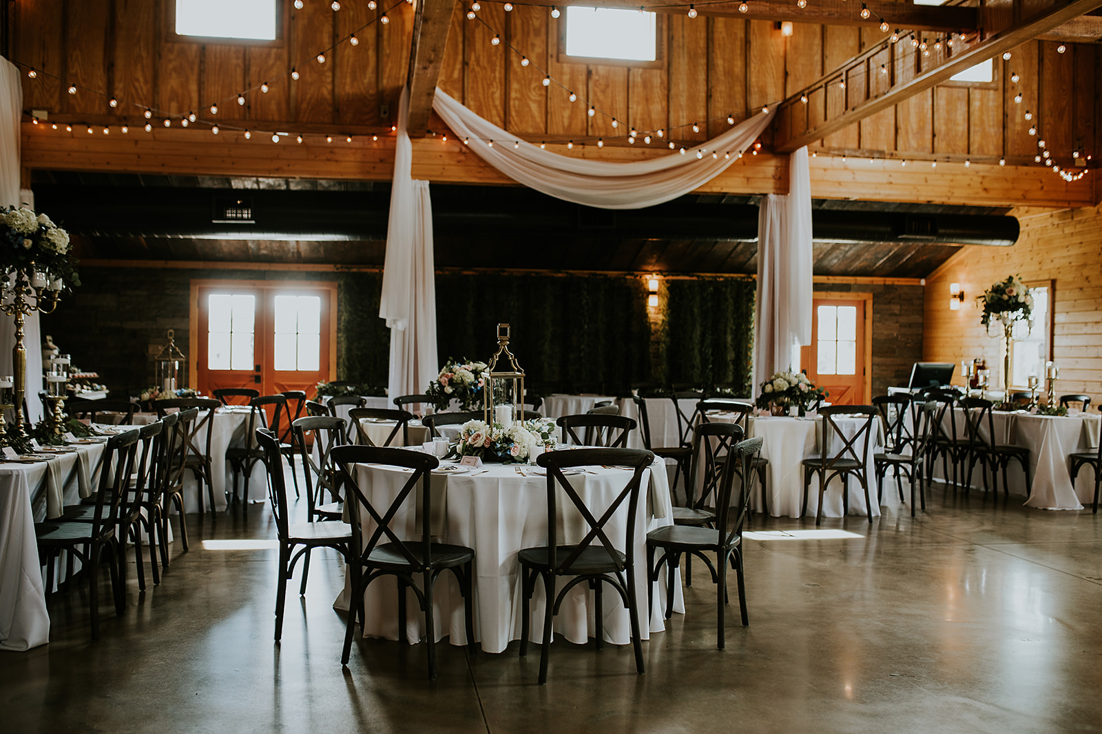 It's important for venues to maintain a high level of cleanliness for both the buildings & equipment. pc: Julie Schandolph Photography