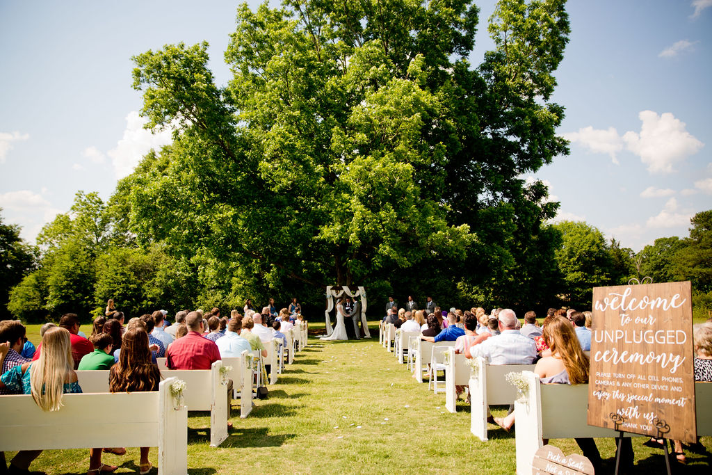 Ceremony sites require equipment and upkeep too. All contributing to venue costs. pc: Taken by Tate