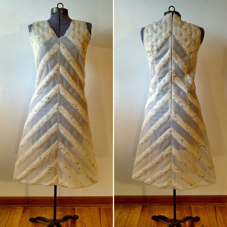 Milkweed dress by  Adele Phillips