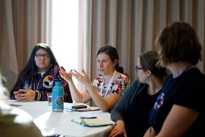 Kayla Koether attended the Plate to Politics session at the Rural Women's Leadership track during Vote Run Lead's Run As You Are national training during the fall of 2017. This year she is running for office. Photo courtesy of VoteRunLead.