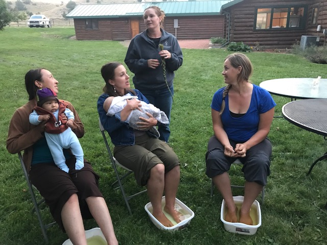 Women gathered at Diamond Cross Ranch in Montana for Western Landowners Alliance's first Women in Ranching event.