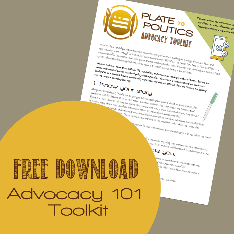 Ramp up your leadership with our advocacy toolkit!