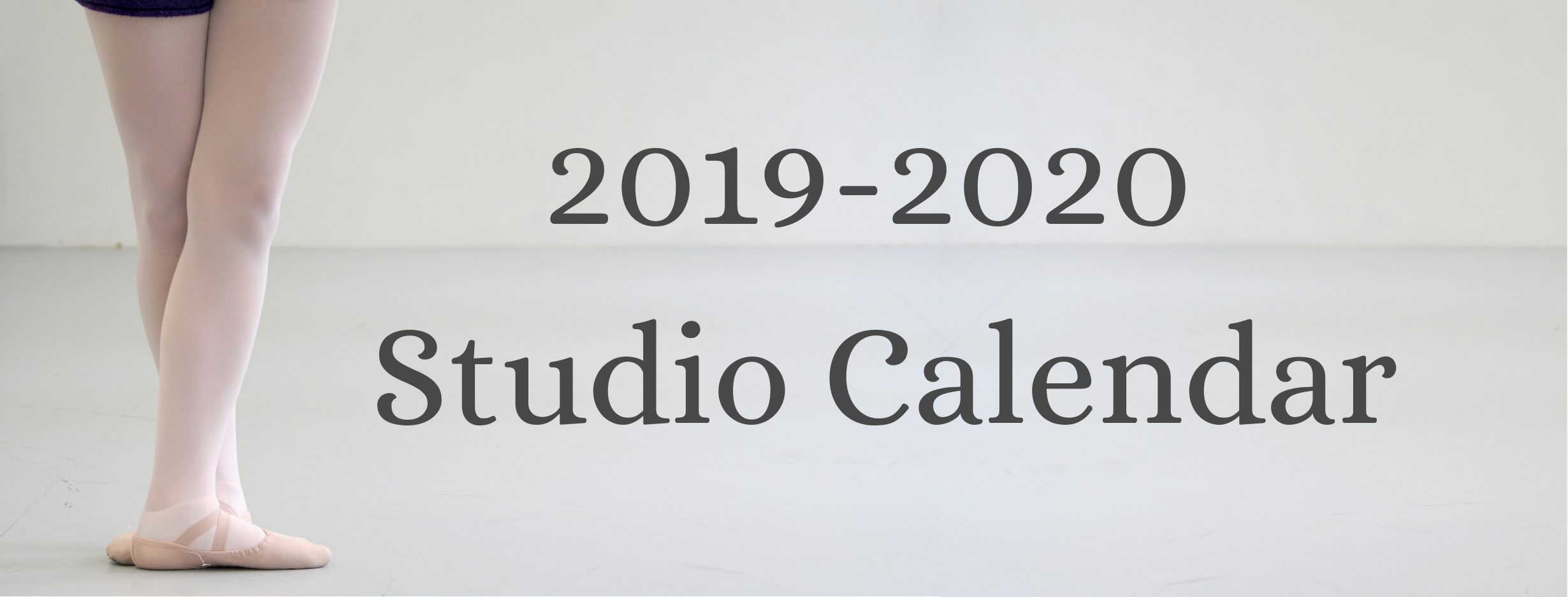 Occasionally, we will need to adjust dates or make changes. This calendar is updated regularly, but we will notify you of changes via email also. Studio closure due to inclement weather will be announced via email and on our  Facebook page .