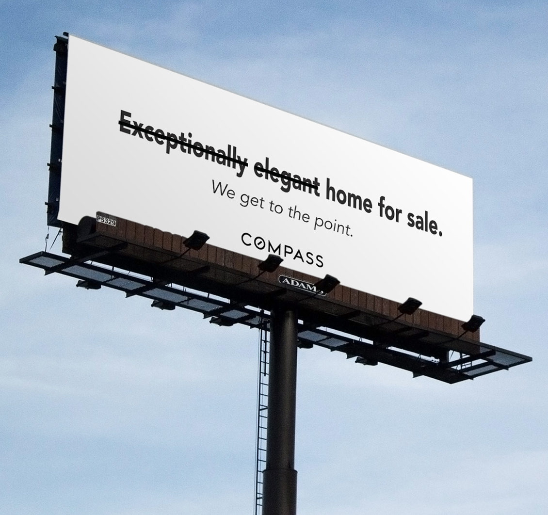 Billboards at the entrance to the 20 cities wheretraffic jams are frequent -