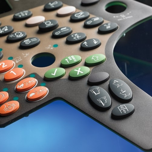 Reliaswitch® can be manufactured with a silicone rubber keypad, custom-built for your membrane switch interface.
