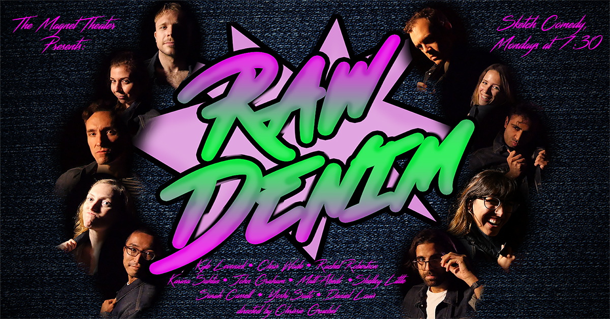 And please catchRaw Denim - Friday and Saturday (01/11 & 01/12) @ 10pm.Tickets and more info here.