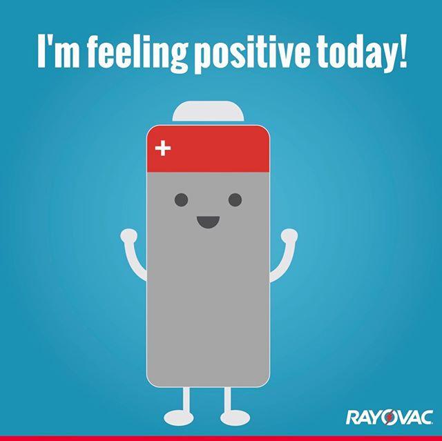 Battery-powered Friday feeling 🙌