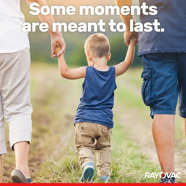 """""""Swing me!"""" 😊 Trust Rayovac Hearing Aid Batteries to deliver clear sound during special moments."""