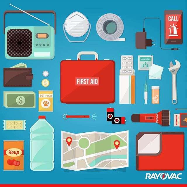 Storm season is in full swing. Make sure your storm prep kit is stocked and your devices have fresh batteries.