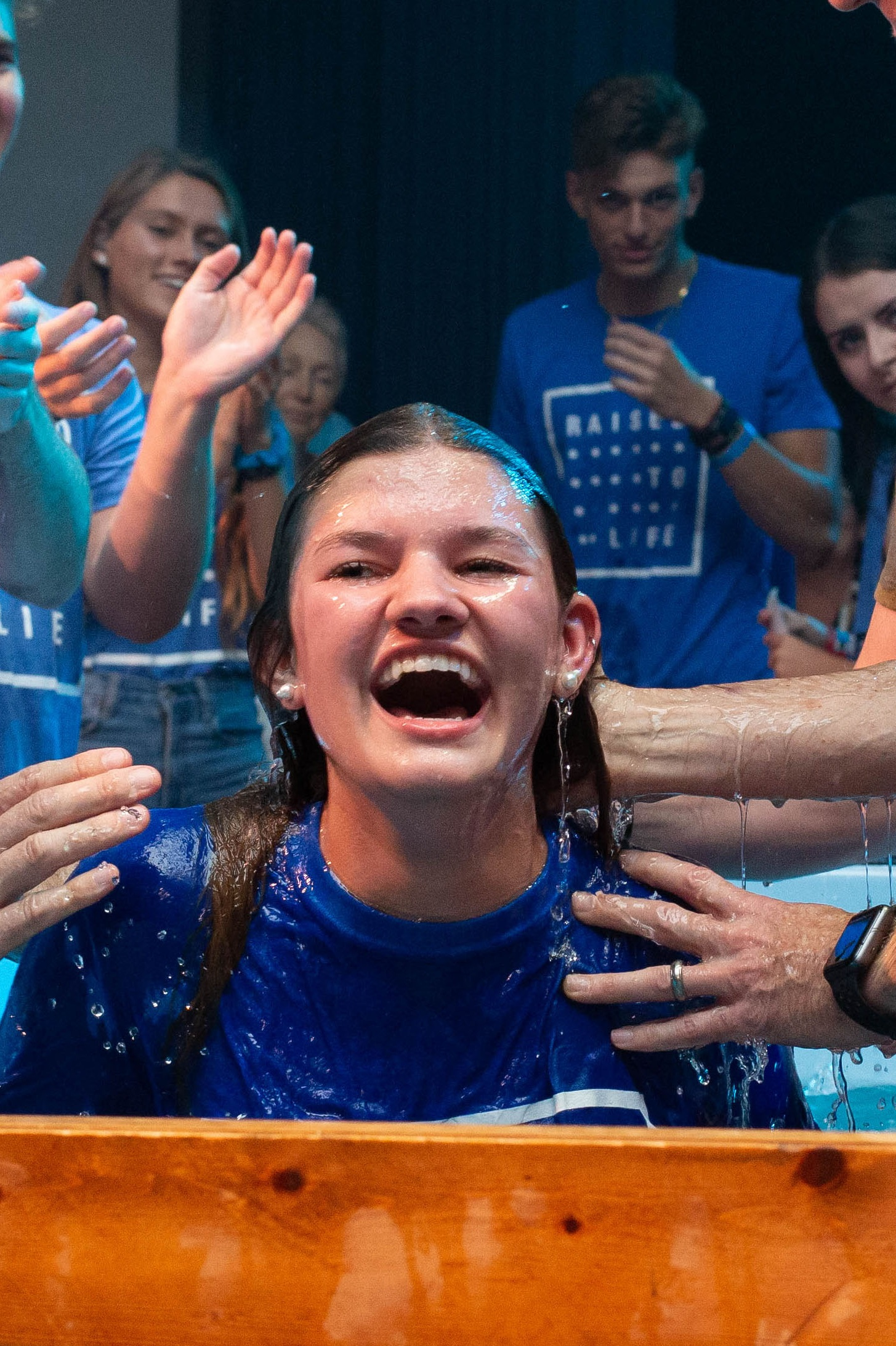 Sign up! - Register now for our next baptism service.