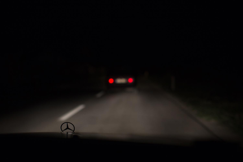 Night drive, Kosovo
