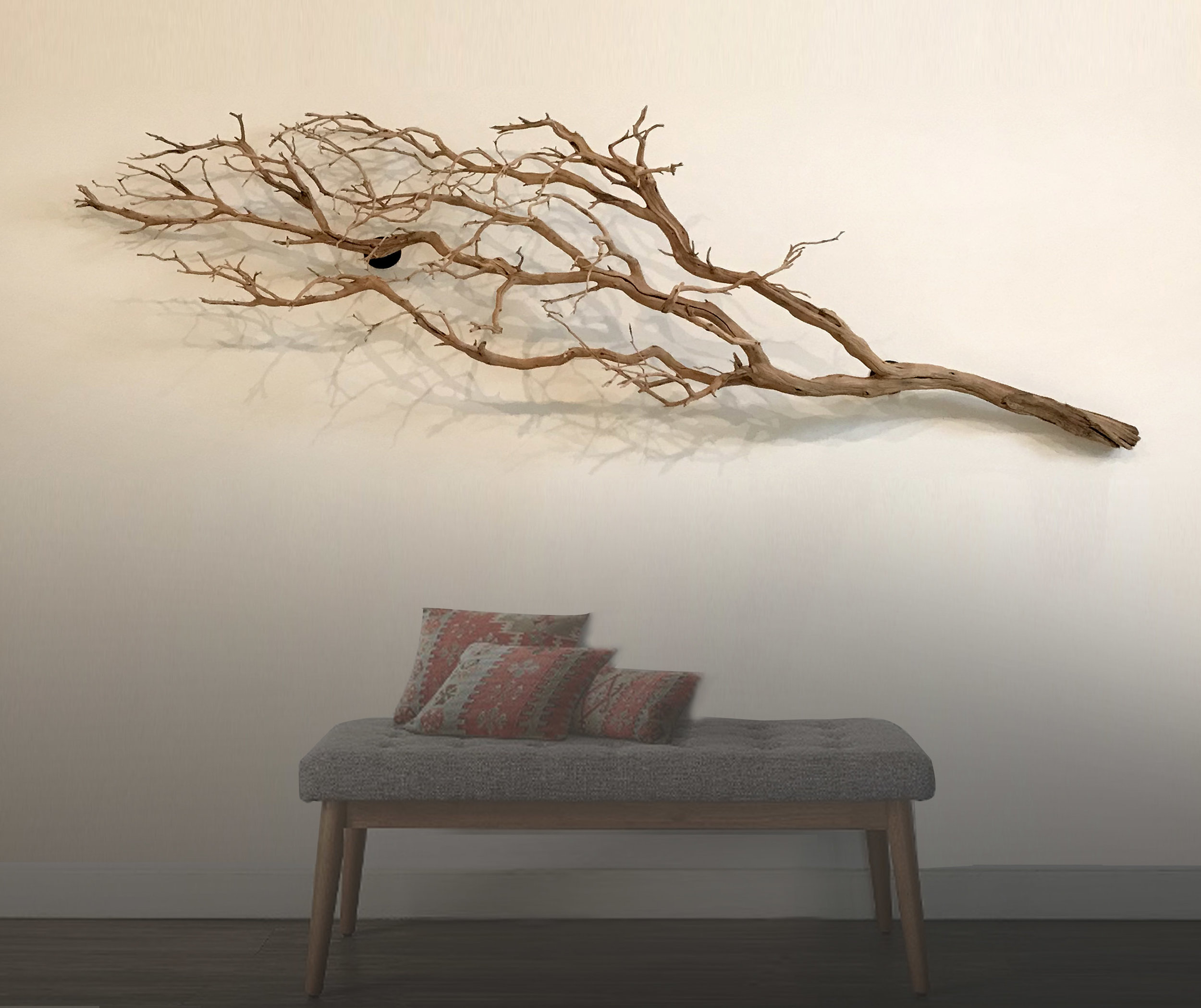 Wall Mounted Manzanita