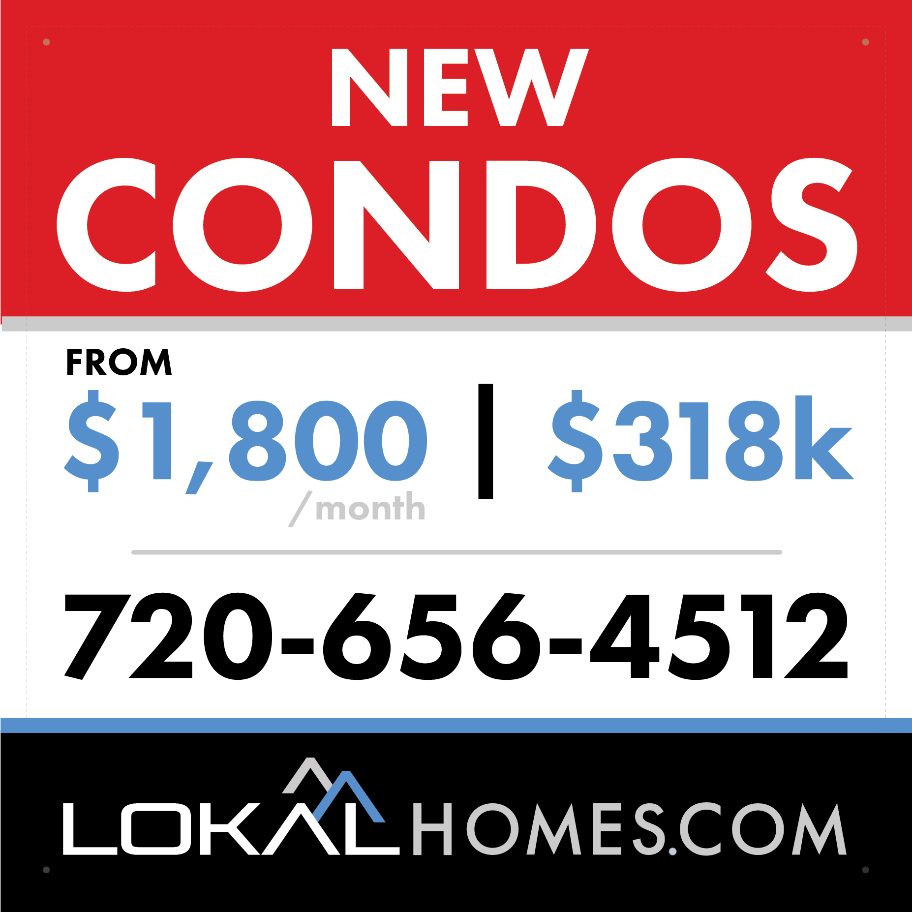 Lokal Homes - The Villas at Wheatlands - Aurora, CO