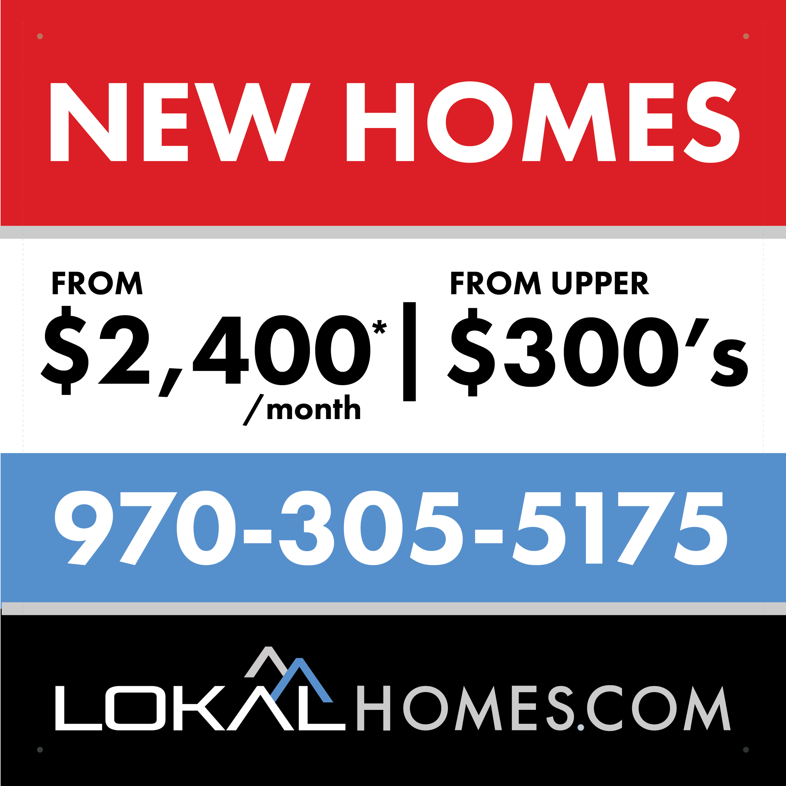 Lokal Homes - The Reserve at Registry Ridge - Ft. Collins, CO