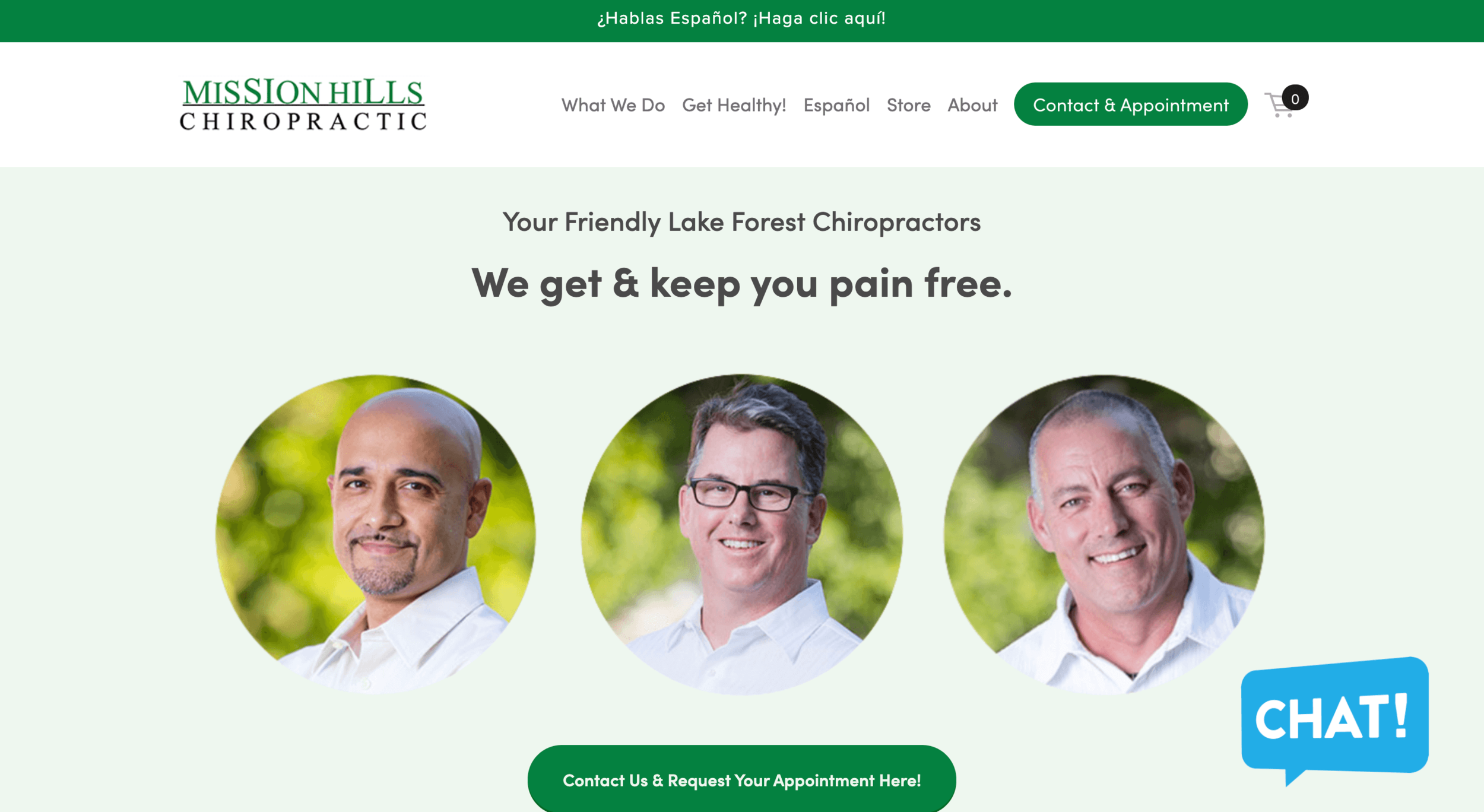 Websites & SEO from Nelson & Partners | Mission Hills Chiropractic.png