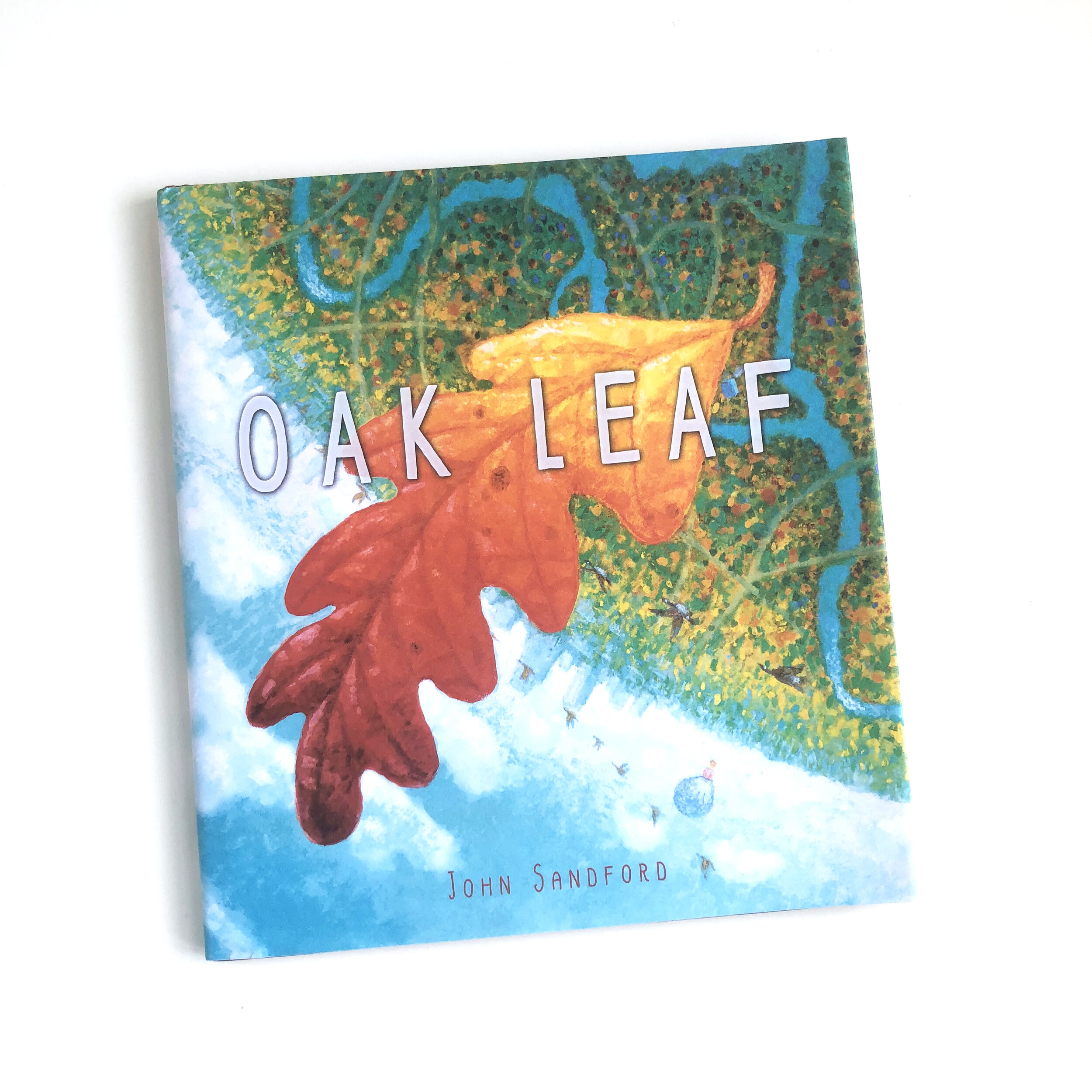 """""""Autumn arrived quietly so no one would notice. But the trees knew."""" So begins this gently moving ode to the change in seasons. Rich illustrations dapple light through each spread, sweeping across images as we travel with an oak leaf over a farm, through varied landscapes, into the city's swirl, and noticed by a child.   Oak Leaf     is such a fitting fall read."""