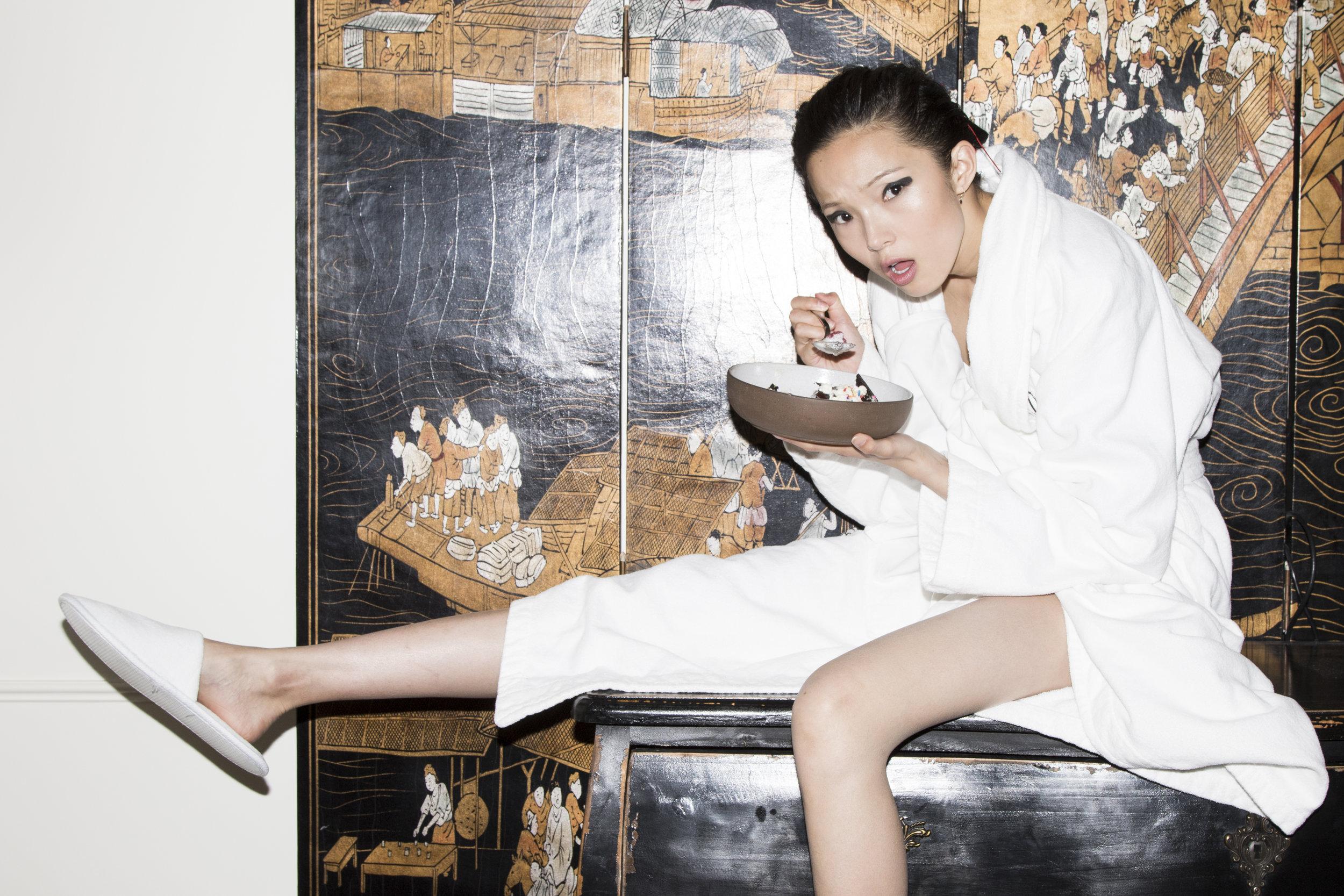 Xiao Wen at The Mandarin