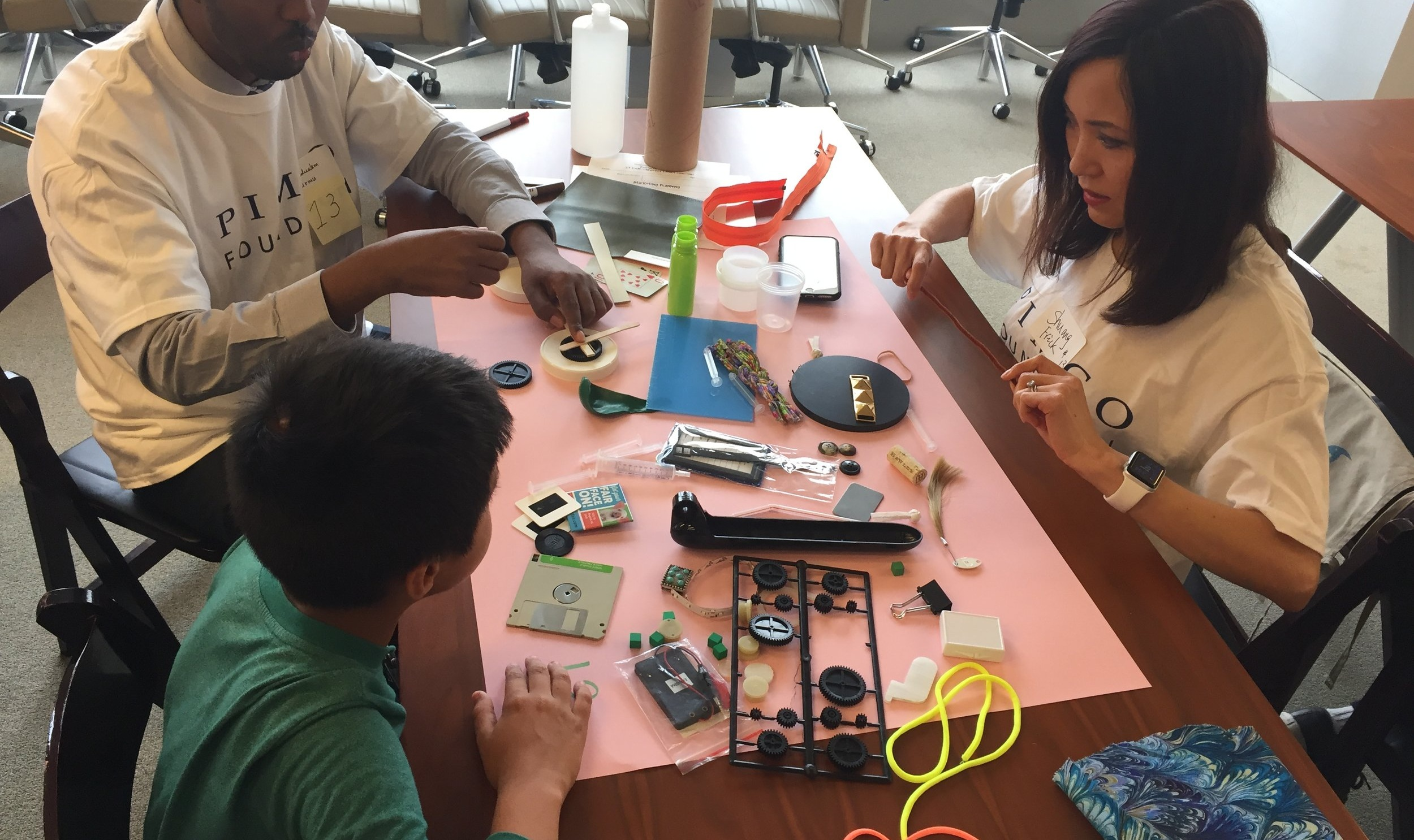 OUTREACH AT YOUR LOCATION - Have us come to your school or community location for some creativity-enhancing, hands-on, S.T.E.A.M.-based workshops. We bring the materials, the staff, and the knowledge to your location — you bring the creativity!We have numerous options available for classrooms, scouts, teachers, and corporate professionals. For additional questions or special circumstances, please email us at info@childcreativitylab.org.