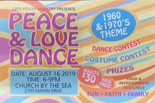 Let's Dance! Pull out your afro wigs, platform shoes & leisure suits. We're having a Peace & Love Dance w/ a 1960's & 1970's Theme presented by our Youth Group. August 16th 6pm-9pm in Eden Hall. $30 Adults. Kids Free! Get tickets here: https://zcu.io/Be5Y #fun #family #food