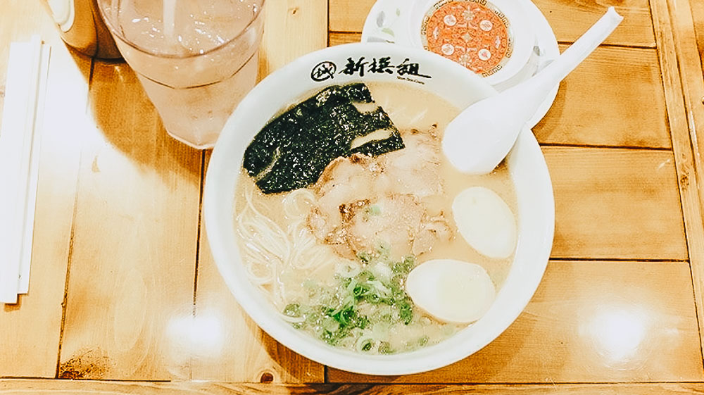 *Hakata Ramen Shinsengumi (Little Tokyo) - Hakata ramen, made to recreate the taste of ramen enjoyed in the stalls that line the bay of Nagahama. Their ramen combines a tonkotsu (pork bone) broth with noodles and a variety of toppings, including chashu pork, all made in-house.
