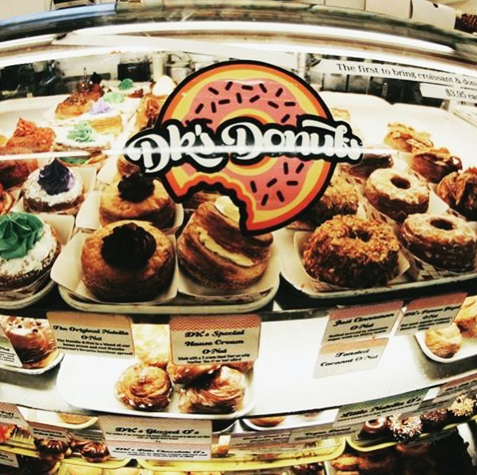 DKs Donuts (santa monica) - Hands down my favorite donut place of all time! They are open 24/7, and deliver too! Can it get better than that? This bakery offers creative concoctions such as waffle-donut hybrids & donut sandwiches.
