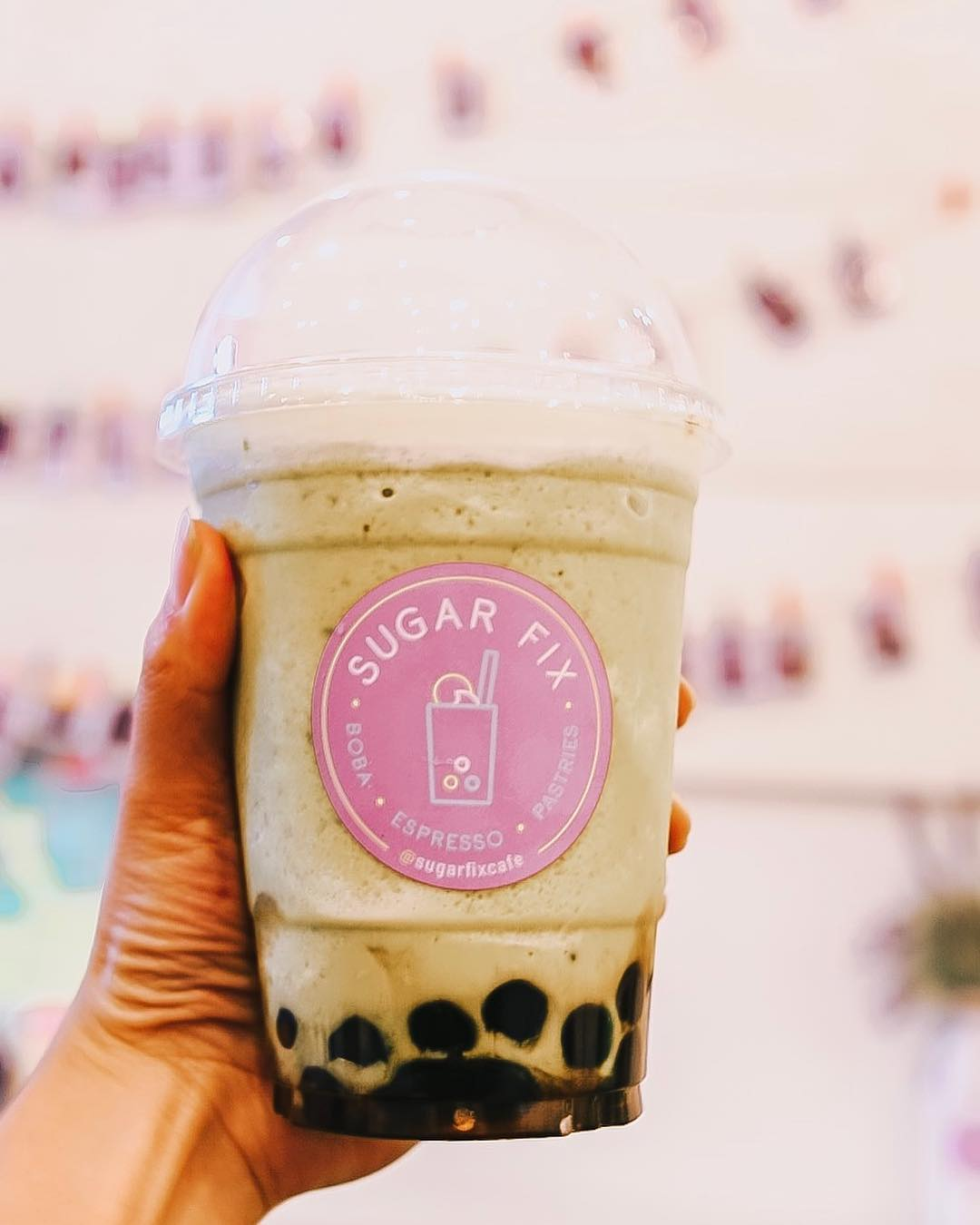 Sugar Fix Cafe (Northridge) - This mom and pop shop is one of the best boba places I know. All the ingredients that goes to your drink are organic and prepared everyday. They also have Japanese toasts that are baked daily!